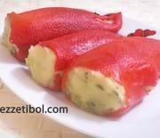 Patatesli Kırmızı Biber Dolması
