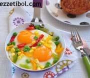 Sebzeli Yumurta