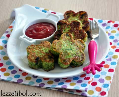 Brokolili Çiçek Köfte
