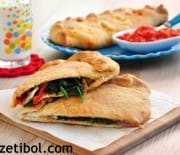 Ispanaklı Calzone (Kapalı Pizza)