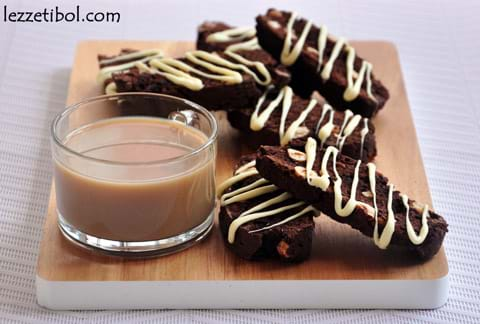 Çikolatalı Biscotti
