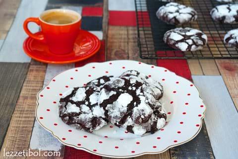 Çikolatalı Islak Kurabiye