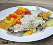 Cookplus İle Sebzeli Levrek