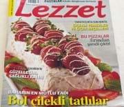 Lezzet Dergisi Mayısı Ayı Sayısındayım