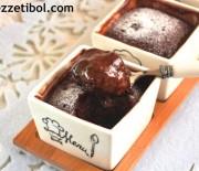 Mikrodalga da Çikolatalı Kek