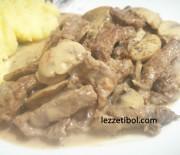 Beef Straganof (Kremalı Dana Sote)