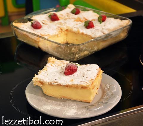 Muhallebili Milföy Pasta