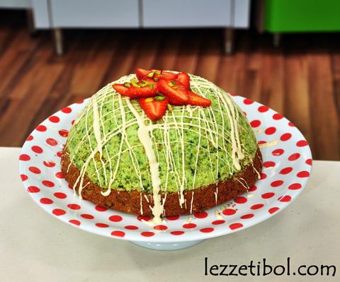 Ispanaklı Kümbet Pasta