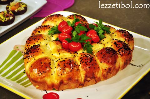Peynirli Biberli Lokum Çörek