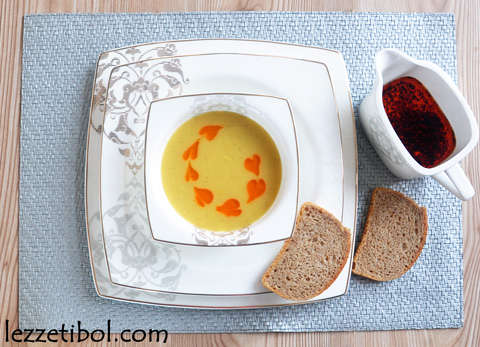 Terbiyeli Mercimek Çorbası ve Karaca`dan Yarışma