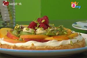 Ispanak Dolgulu Çörek, Frambuazlı Bar ve Meyveli Pizza
