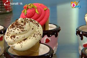 Külahta Muffin, Donut ve Karamel Kremalı Kolay Pasta