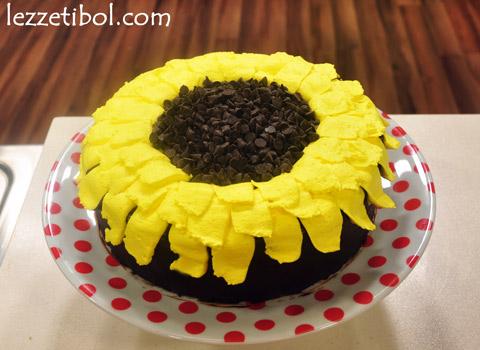 Ayçiçeği Pastası