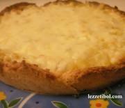 Patetesli Peynirli Tart
