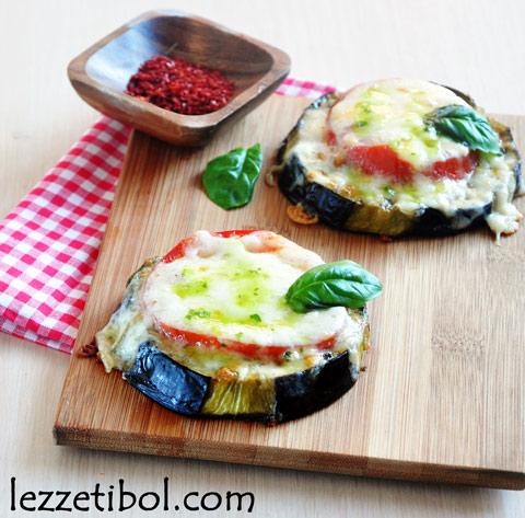 Peynirli Patlıcan Dilimleri