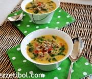 Terbiyeli Patlıcan Çorbası Ve Ramazan Pidesi