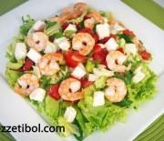 Peynirli İGLO Gurme Karides Salata