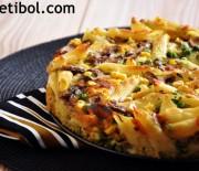 Makarnalı Omlet