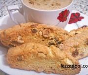 Üzümlü-Fındıklı Biscotti (Selanik Gevreği)