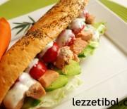İGLO Açık Deniz Somonlu Sandviç