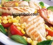 Tavuk Izgara Salata Ve Patatesli Rulo