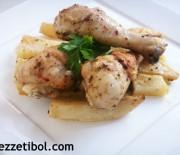 Fırında Tavuk Ve Patates
