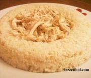 Tavuklu Kepekli Pirinç Pilavı