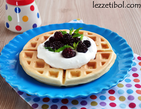 Waffle (orjinal tarif)