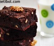 Zeytinyağlı Brownie